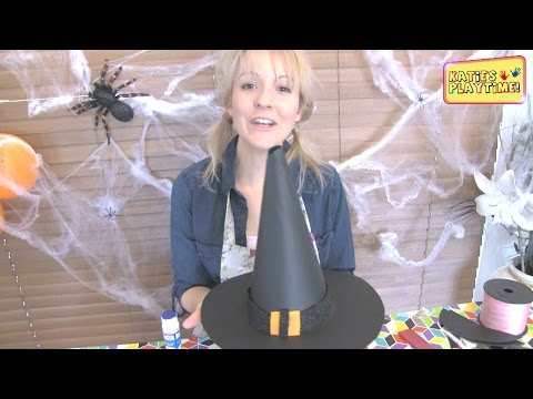 How to Make a Witches Hat For Halloween