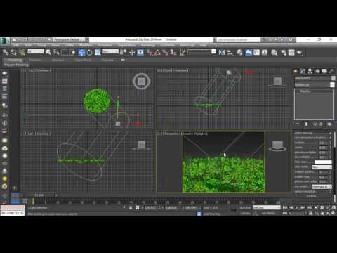 3ds max Vray Forest Pack Rendering and LightingTutorial