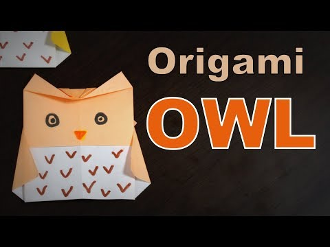 Origami - How to make an OWL