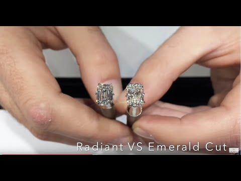 Live Show #8: Diamond Faceoff - Emerald VS Radiant Cut Diamonds