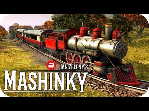 MASHINKY Gameplay - ALLLLLLL THE ORE! - Tycoon Trains Simulator/Railroad Tycoon #3