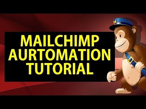 Mailchimp Automation Tutorial or Mailchimp Marketing Automation Tutorial 2018