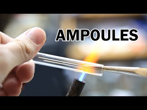 How to make Ampoules from Glass Test Tubes (Revisited)