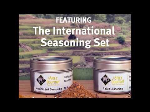 International Seasoning Collection - Herb and Spice Set - The Spicy Gourmet®