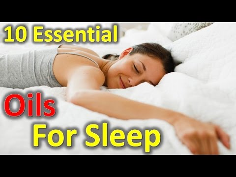 10 Essential Oils for Sleep and Relaxation