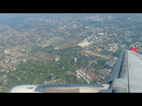 Air Asia Flight - Bangkok to Kuala Lumpur - 2015