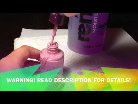 How To Fix Your Old Gooey Nail Polish | Marysonia Victoria