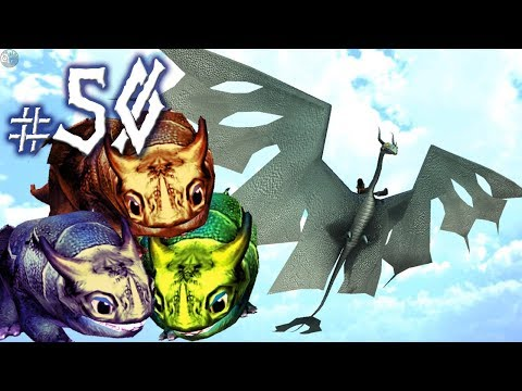 FIRST FLIGHT & RUMBLE BABIES! School of Dragons - Ep. 50