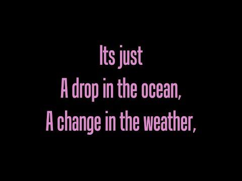 Ron Pope- A Drop In The Ocean- lyrics