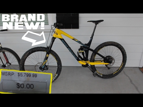 $5,800 MOUNTAINBIKE FOR $0