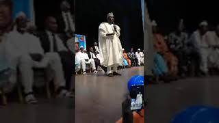 Intervention de Hama Amadou à Accra