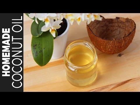 বাসায় তৈরি করুন ১০০% খাঁটি নারকেল তেল | Homemade Coconut Oil | How To Make Pure Coconut Oil At Home