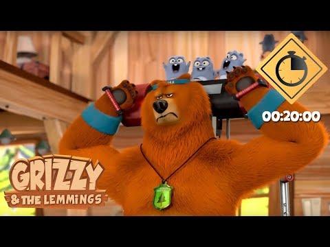 Xxx Mp4 20 Minutes De Grizzy Les Lemmings Compilation 03 Grizzy Les Lemmings 3gp Sex