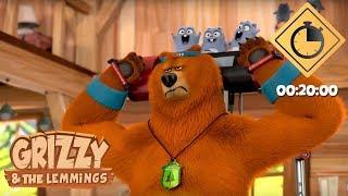 20 minutes de Grizzy & les Lemmings // Compilation #03 - Grizzy & les Lemmings
