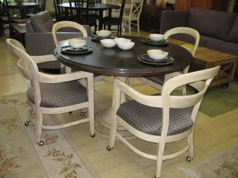 Magnificent Kitchen Chairs With Casters Design Ideas