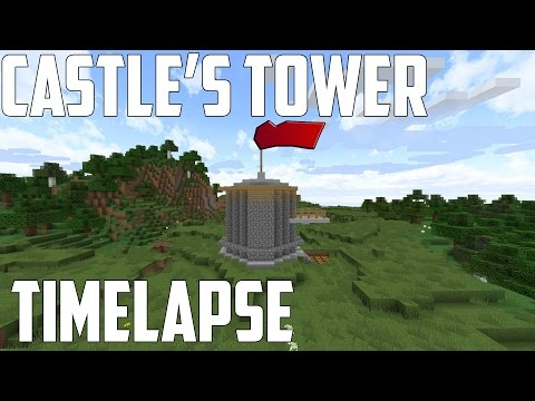 ★ Minecraft Timelapse : Building Medieval Castle Tower