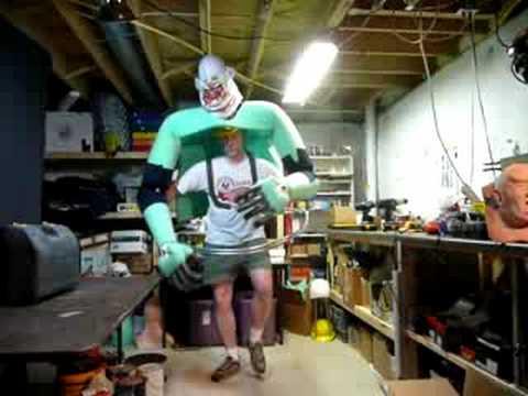 Jumbo the Clown - costume in progress