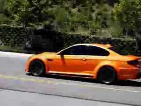 Vorsteiner GTRS3 based on BMW E92 M3 in Arancio Borealis