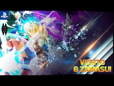 【Dragon Ball FighterZ】Vegito & Zamasu Gameplay!