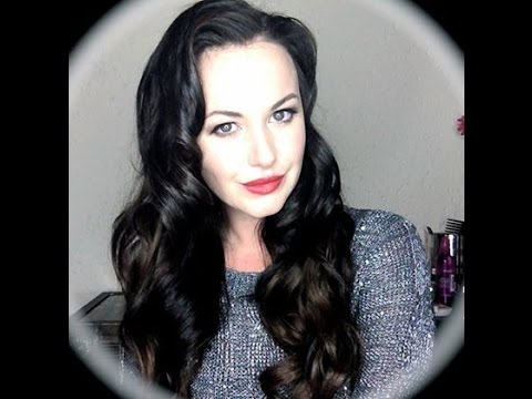 Old Hollywood Style Glam Curls with FrontRow Extensions