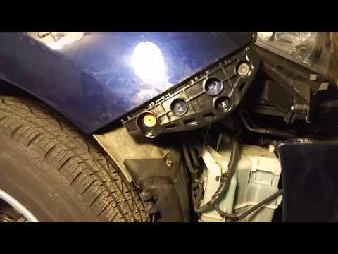 Lexus RX 350 Front Bumper removal