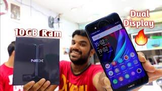 Hindi | Vivo Nex Dual Display Unboxing 10GB Ram.. 🤫 Back Side Mein Bhi Display 🤩