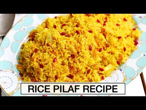 How to Make Rice Pilaf | TASTIEST RICE YOU'LL EVER TRY!