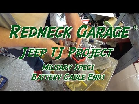Jeep Wrangler Project - Wrangler Replacement Battery Terminals - Nice Upgrade