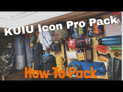 How To: How We Our Backpack - Kuiu ICON PRO pack