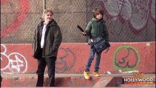Joaquin Phoenix Back On Set For New Movie in NYC