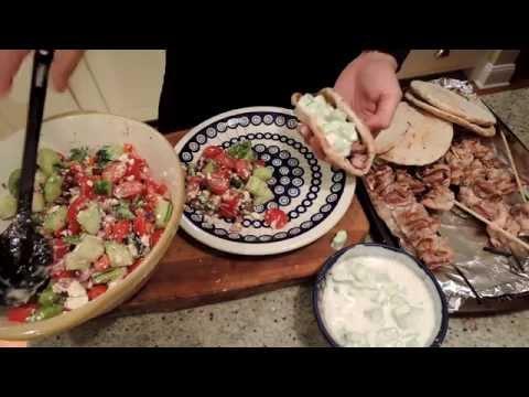 How to Make Chicken Souvlaki  - Episode 75