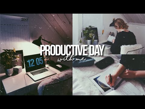 PRODUCTIVE DAY WITH ME! / get productive with me