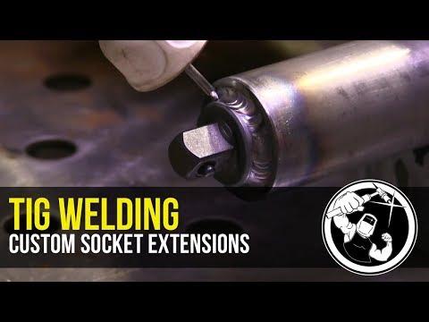 Tig Welding Custom Socket Extensions
