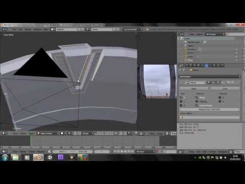 Blender 2.66 Tutorial - How to make a Stargate - Part 2