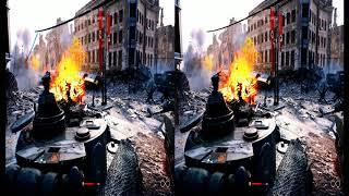 3d video sbs Battlefield V The Last Tiger