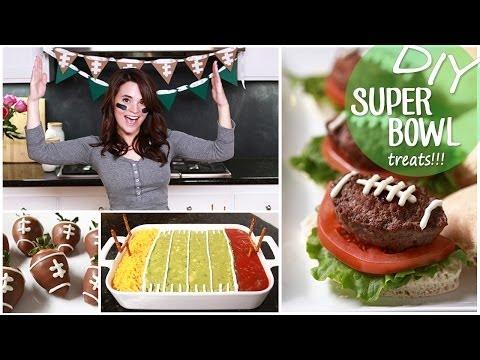 DIY Easy Super Bowl Treats