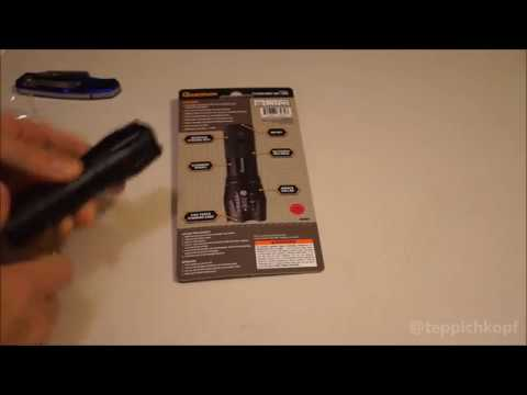 Harbor Freight 588 Lumen Tactical Flashlight - great deal under $10