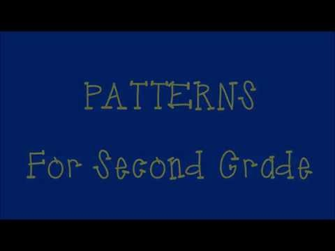 Digital Lesson- Patterns Review for 2nd Grade