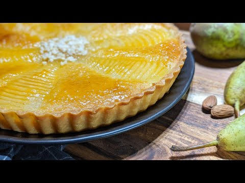Pear and Almond Tart Recipe | Delicious and Easy to Make Tart Bourdaloue