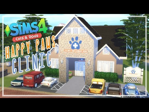 The Sims 4 Cats & Dogs - Happy Paws Clinic | Speed Build