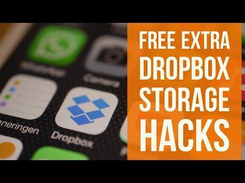 Dropbox Free Storage Hacks