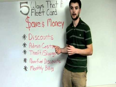 5 Ways a Fleet Card Saves Your Business Money