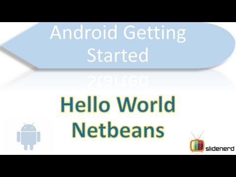 3 Hello World Android Netbeans |