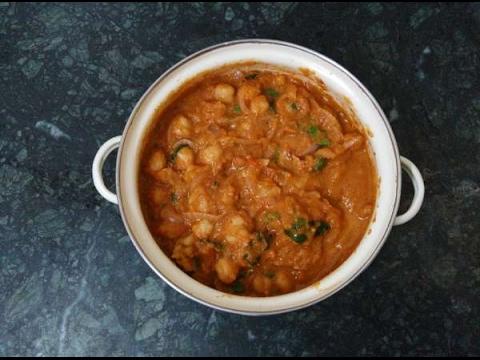 சென்னா மசாலா செய்வது எப்படி | Channa masala Gravy  Recipe No - 59