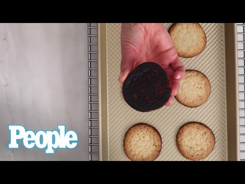 Food Hack: How To Save Burnt Cookies | People | INSTANT