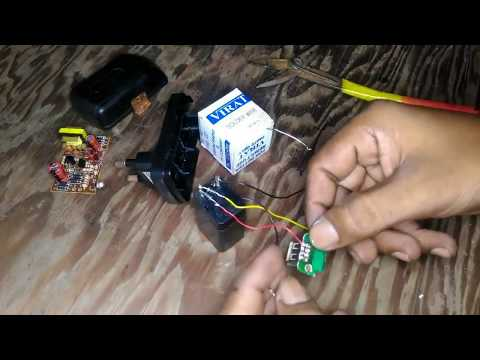 How to Make Power Bank at Home Using Old Mobile Charger without Circuit [Homemade] #605
