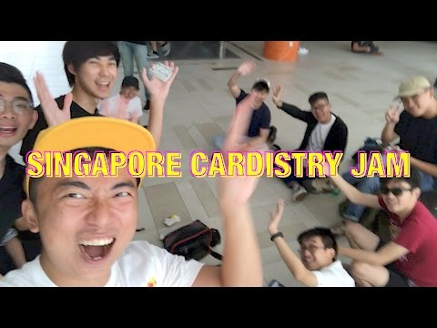 Singapore Cardistry Meetup + Sam Rui is AWESOME!