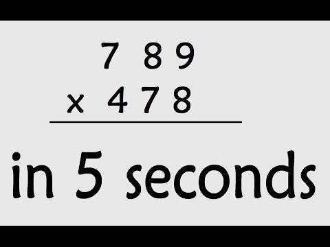 Maths Shortcut : 3 Digit Multiplication ( Secret maths tricks )