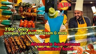 Absolute Barbecues Unlimited Buffet in just 799₹    Best Seafood Buffet Restaurant   