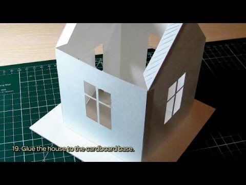 How To Make A House For Christmas Decoration - DIY Crafts Tutorial - Guidecentral